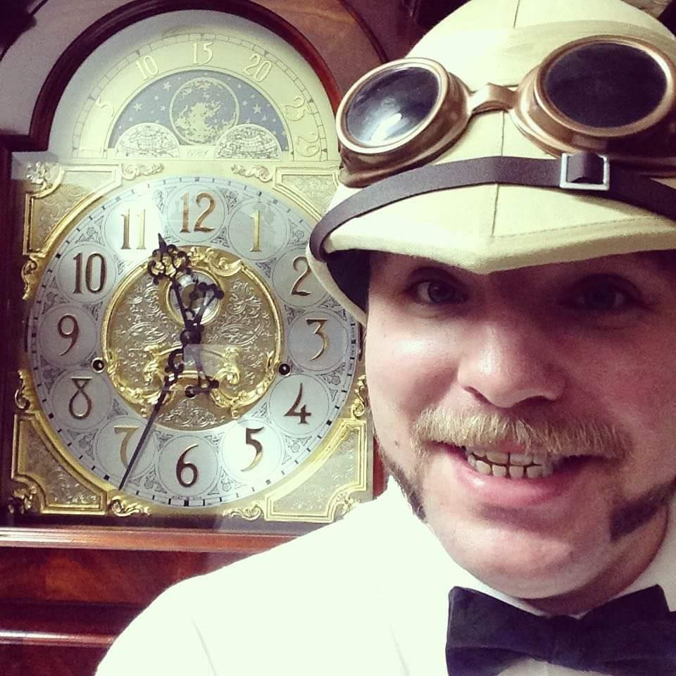 Steampunk at Clocktoberfest